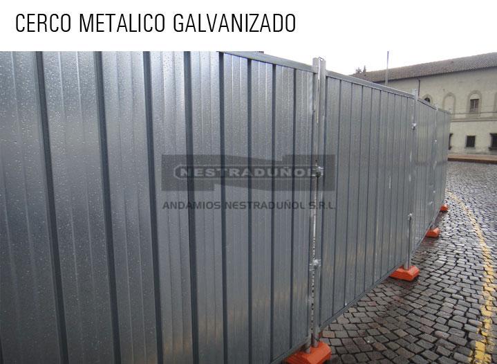 Vallas de obra precios affordable perfect awesome gran for Caseta metalica brico depot